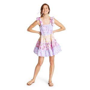 LoveShackFancy for Target Jeanne Tie-Strap Dress